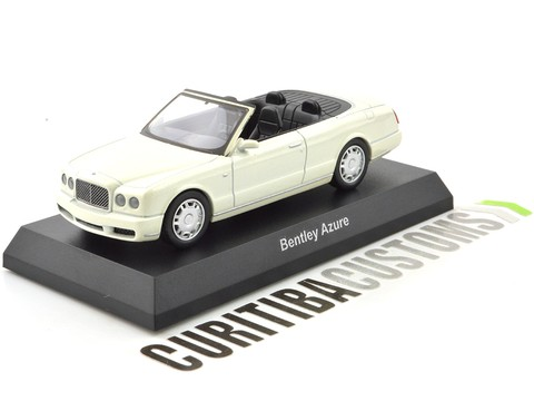Kyosho 1:64 Bentley Azure - White