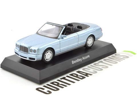 Kyosho 1:64 Bentley Azure - Blue