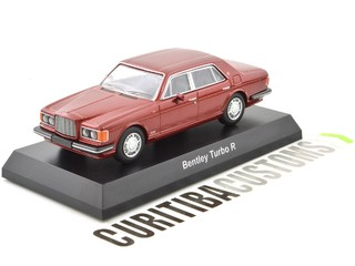 Kyosho 1:64 Bentley Turbo R - Red