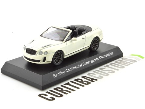 Kyosho 1:64 Bentley Continental Supersports Convertible - White