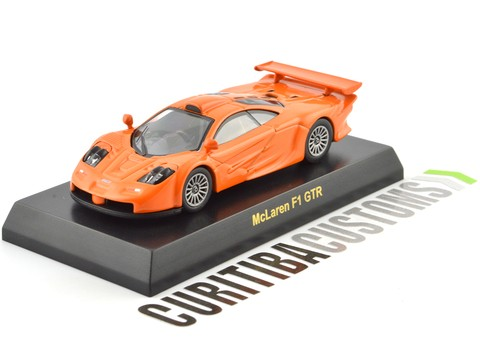 Kyosho 1:64 British McLaren F1 GTR Long - Orange - buy online