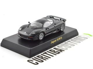 Kyosho 1:64 British Jaguar XJR15 - Black