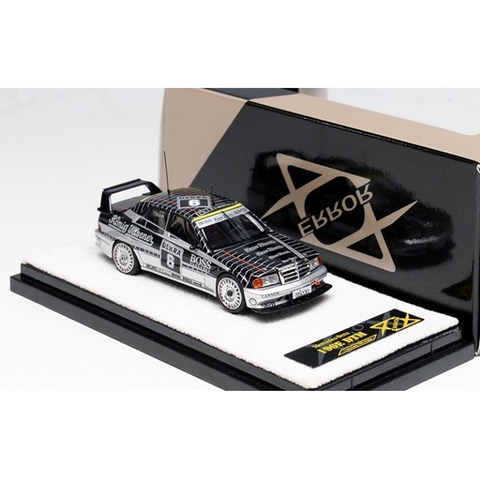 PRÉ VENDA Error 404 1:64 Mercedes-Benz 190E Evolution 2 - Preto (cópia)