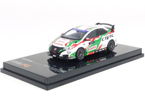 PRÉ VENDA Tarmac 1:64 Honda Civic Type R FK2 Touring Car Livery