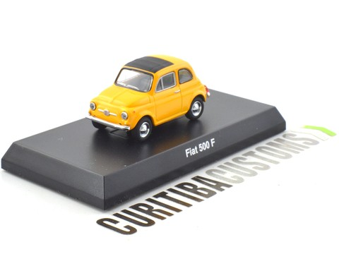 Kyosho 1:64 Fiat 500F - Yellow