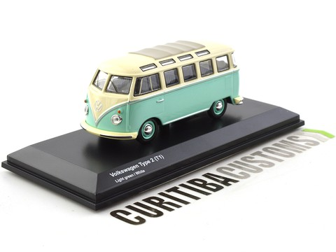 Kyosho 1:64 Volkswagen Type 2 T1 - Light Green