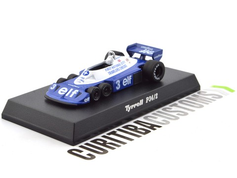 Kyosho 1:64 Tyrrell P34/2 #3 R. Peterson (1977)
