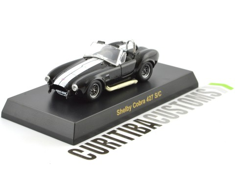 Kyosho 1:64 USA Cobra 427 S/C - Black