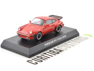 Kyosho 1:64 Porsche 911 Turbo (930) - Red on internet