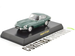 Kyosho 1:64 British Jaguar E-type - Green on internet