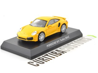 Kyosho 1:64 Porsche 911 Turbo (991) - Yellow - buy online