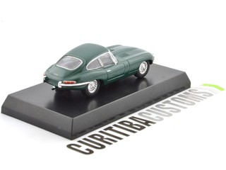 Kyosho 1:64 British Jaguar E-type - Green - Curitiba Customs