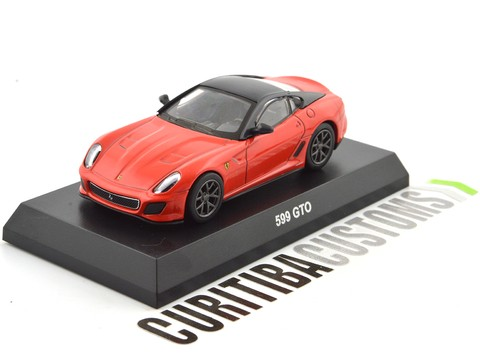 Kyosho 1:64 Ferrari 599 GTO - Red Orange - buy online