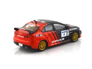 Tarmac 1:64 Mitsubishi Evo X Rally Advan - T64-004-ADV on internet