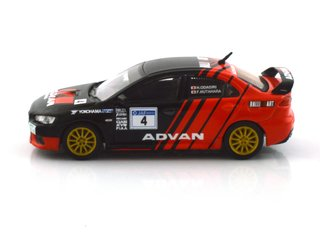 Tarmac 1:64 Mitsubishi Evo X Rally Advan - T64-004-ADV - Curitiba Customs