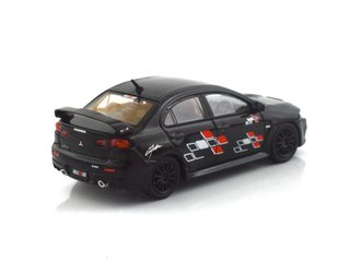 Tarmac 1:64 Mitsubishi Evo X - Ralliart Edition Black - T64-004-REB on internet