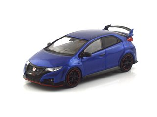Tarmac 1:64 Honda Civic Type R FK2 - Brilliant Sporty Blue Metallic - T64-003-BL - buy online