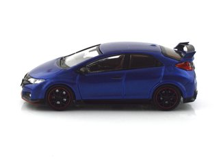 Tarmac 1:64 Honda Civic Type R FK2 - Brilliant Sporty Blue Metallic - T64-003-BL on internet
