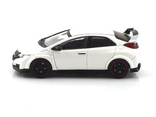Tarmac 1:64 Honda Civic Type R FK2 - Championship White - Curitiba Customs