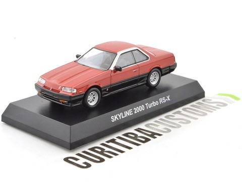 Kyosho 1:64 Skyline 2000 Turbo RS-X - Red