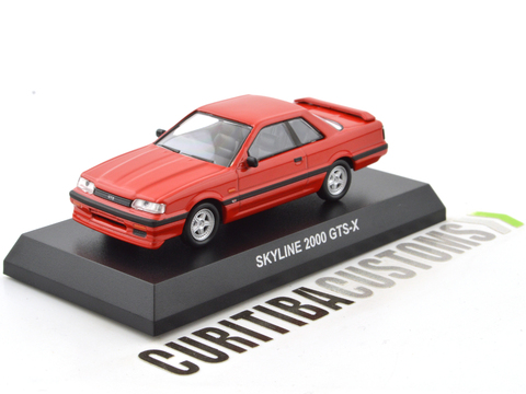 Kyosho 1:64 Skyline 2000 GTS-X - Red