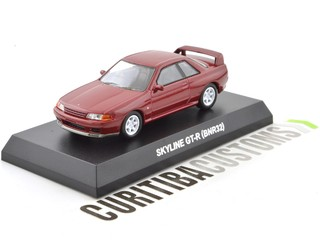 Kyosho 1:64 Skyline  GT-R (BNR32) - Red
