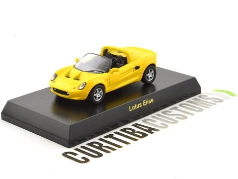 Kyosho 1:64 British Lotus Elise - Yellow on internet