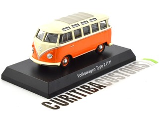 Kyosho 1:64 Volkswagen Type 2 (Kombi) - Orange