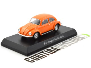 Kyosho 1:64 Volkswagen Beetle 1303 - Orange