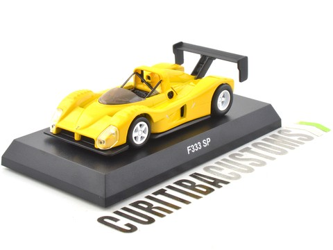 Kyosho 1:64 Ferrari F333 SP - Yellow