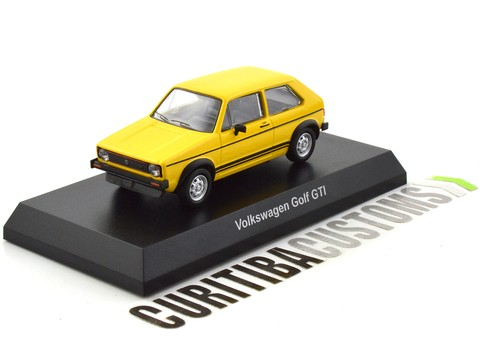 Kyosho 1:64 Volkswagen Golf GTI - Yellow