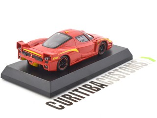 Kyosho 1:64 Ferrari FXX Evoluzione - Red w/ Yellow - buy online