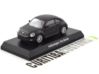 Kyosho 1:64 Volkswagen The Beelte - Preto Fosco (Secret)