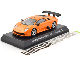 Kyosho 1:64 Lamborghini Murciélago R-GT Team JLOC - Orange - buy online
