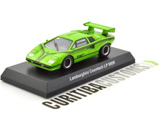 Kyosho 1:64 Lamborghini Countach LP500R - Green - buy online