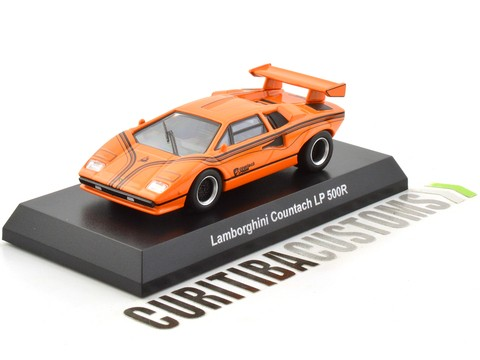 Kyosho 1:64 Lamborghini Countach LP500R - Orange - buy online