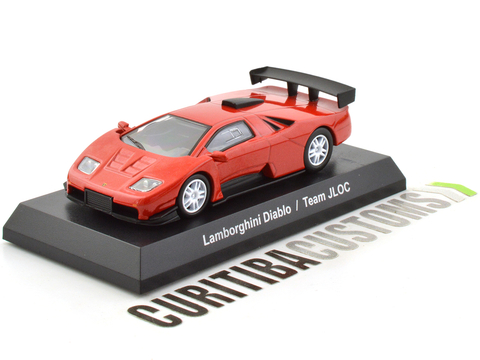 Kyosho 1:64 Lamborghini Diablo Team JLOC - Red - buy online