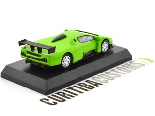 Kyosho 1:64 Lamborghini Diablo Team JLOC - Green on internet