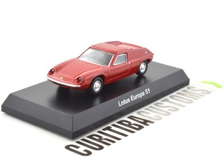 Kyosho 1:64 Lotus Europa S1 - Red