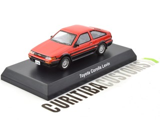 Kyosho 1:64 Toyota Corolla Levin AE86 - Red