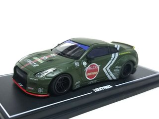 PRÉ VENDA LB WORKS 1:64 Nissan GT-R R35 Duck Tail Zero Fighter
