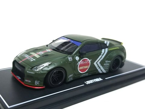 OEM 1:64 Nissan GT-R R35 Duck Tail Zero Fighter
