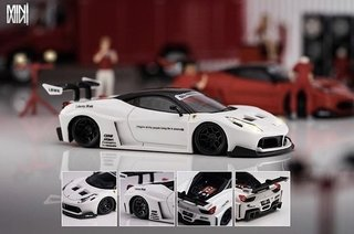 PC Club 1:64 Ferrari 458GT LB★PERFORMANCE - Branco