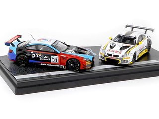 PRÉ VENDA Tarmac 1:64 BMW M6 GT3 24 Hours of Spa 2018 SET *HK Exclusive