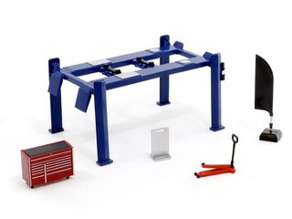 PRÉ VENDA Tarmac 1:64 Garage Tools Set (Blue)