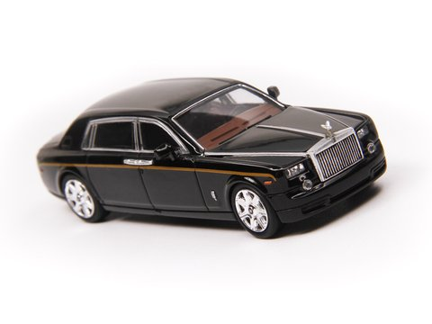 Alloy 1:64 Rolls Royce Phantom Preto