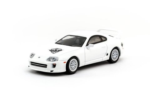 Tarmac 1:64 Toyota Supra ROWW Reach Out Worldwide