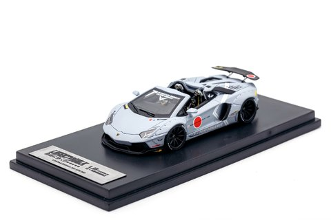 PC Club 1:64 Lamborghini Aventador Roadster Cinza