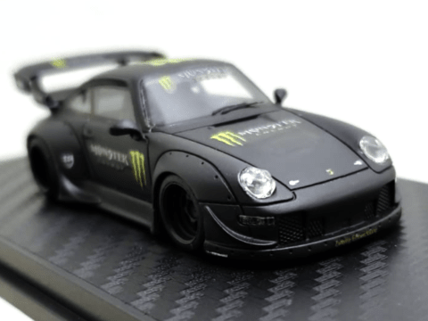 PRÉ VENDA PC Club 1:64 Porsche 911 993 RWB - Monster
