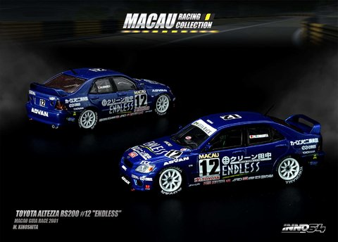 PRÉ VENDA Inno64 1:64 Toyota Altezza RS200 #12 'Endless